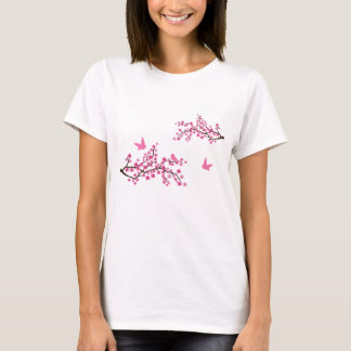Cherry Blossom and Birds t-shirt