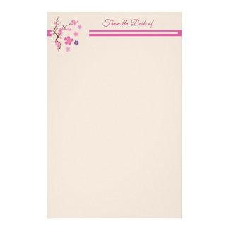 Cherry Blossom Art Stationery