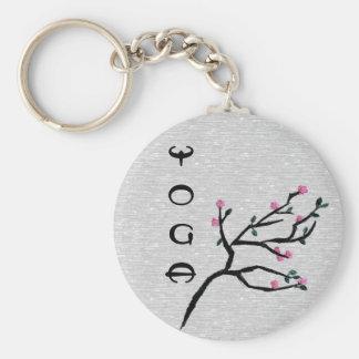 Cherry Blossom - Artistic Yoga Gifts Key Ring