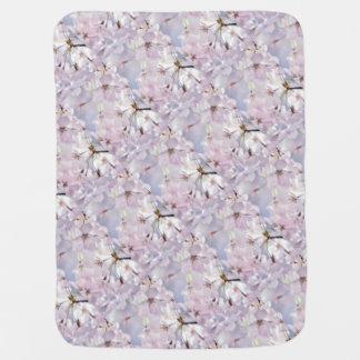 Cherry Blossom Baby Blanket