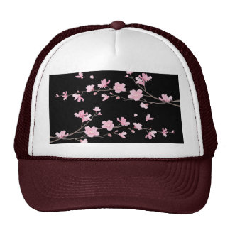 Cherry Blossom - Black Cap