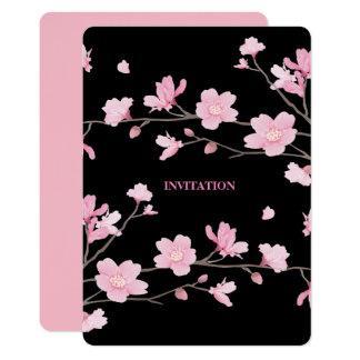 Cherry Blossom - Black Card