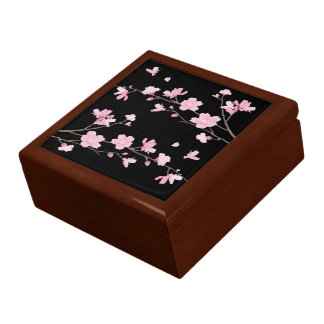 Cherry Blossom - Black Gift Box