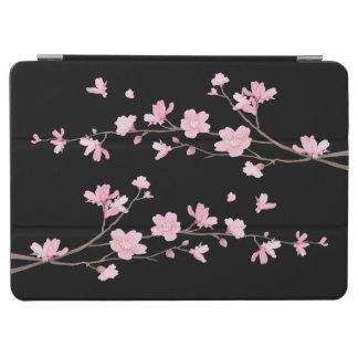 Cherry Blossom - Black iPad Air Cover