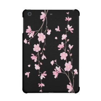 Cherry Blossom - Black iPad Mini Retina Cover