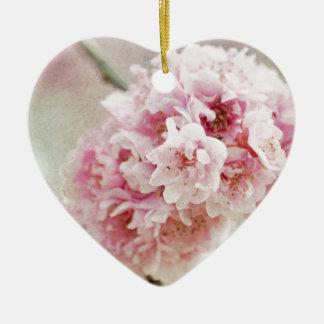 Cherry Blossom Botanical Ceramic Ornament