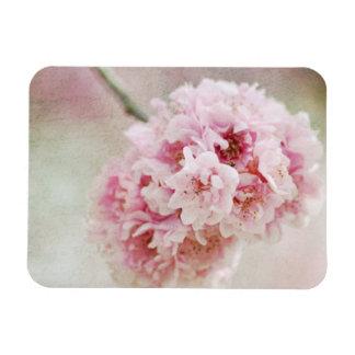 Cherry Blossom Botanical Rectangular Photo Magnet