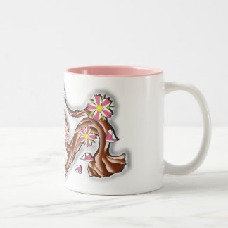 Cherry Blossom Branch Coffee Mugs