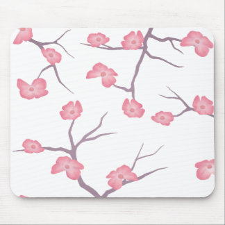 Cherry Blossom Branches Mouse pad