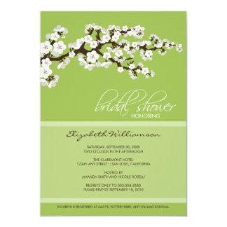Cherry Blossom Bridal Shower Invitation (apple)