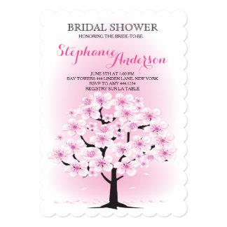 Cherry Blossom Bridal Shower Invitations