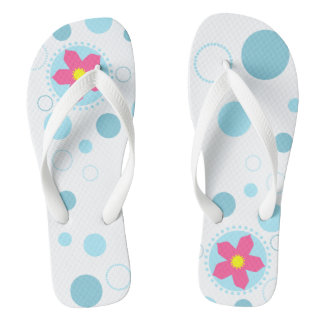 Cherry Blossom Bubbles Thongs