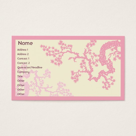 Cherry Blossom - Business Business Card