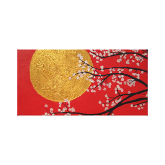Cherry Blossom Canvas Canvas Print