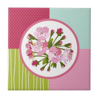Cherry Blossom Ceramic Tile