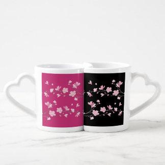 Cherry Blossom Coffee Mug Set
