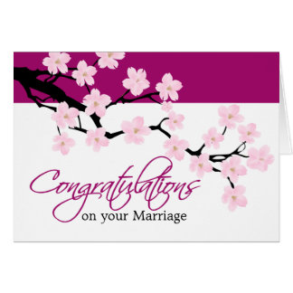 Cherry Blossom | Congratulation Card