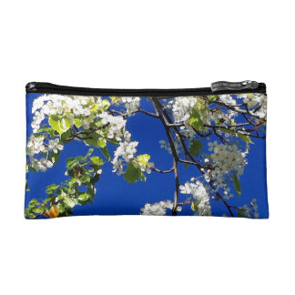 Cherry blossom cosmetics case cosmetic bags