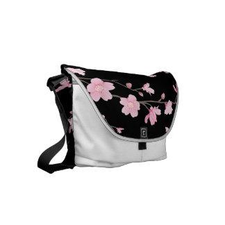 Cherry Blossom Courier Bag