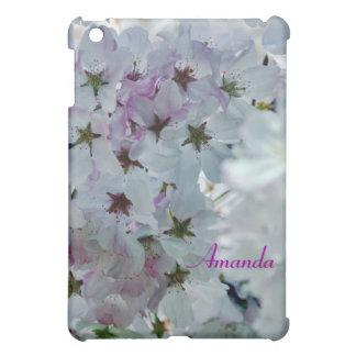 Cherry Blossom Custom Name  iPad Mini Cover