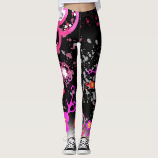 Cherry blossom design 6 leggings