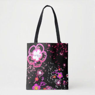 Cherry blossom design 6 tote bag