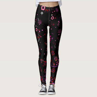 Cherry blossom design 7 leggings