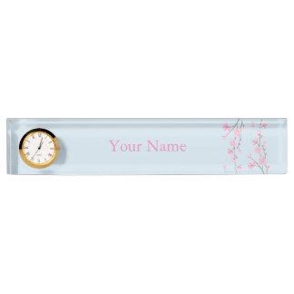 Cherry Blossom Desk Name Plate
