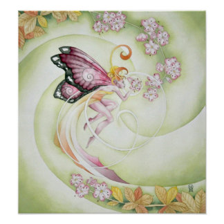 Cherry Blossom Faery Print