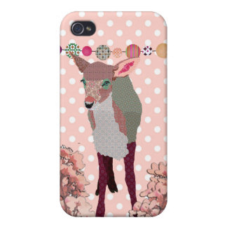 Cherry Blossom Fawn i Case For iPhone 4