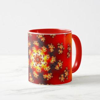 Cherry Blossom Floral Sprinkles Mug