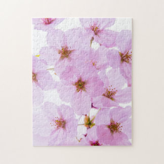Cherry Blossom Flowers in Tokyo Japan Jigsaw Puzzle