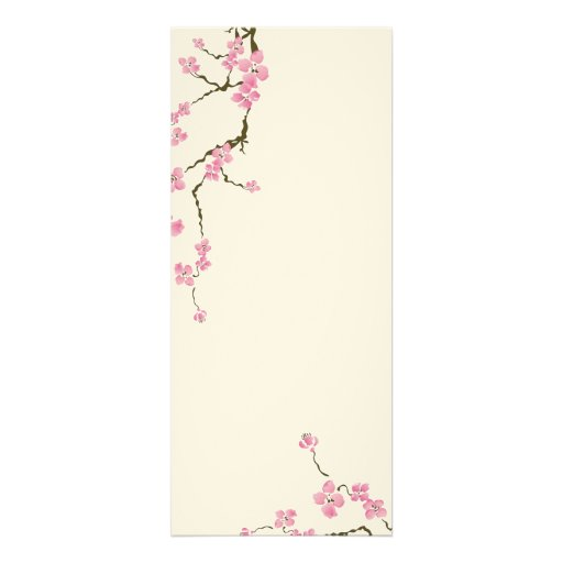 Cherry blossom flowers Invitation