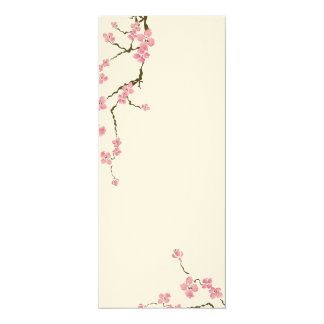 Cherry blossom flowers Invitation