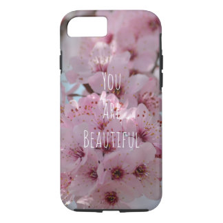 Cherry Blossom Flowers You are Beautiful iPhone 8/7 Case