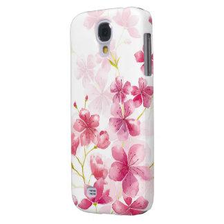 Cherry blossom galaxy s4 cover