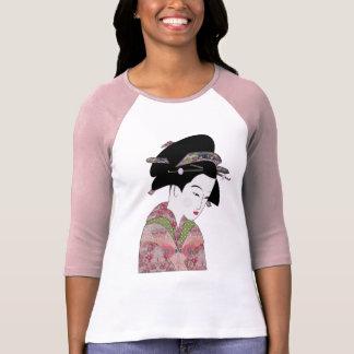 Cherry Blossom Geisha Tee Shirt