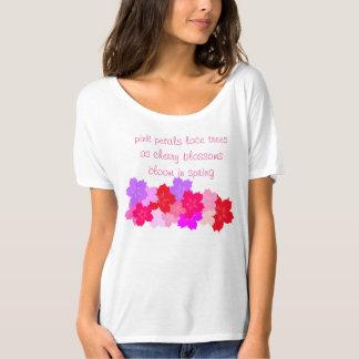 Cherry Blossom Haiku Tshirt