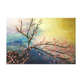 Cherry Blossom Harmony Canvas Prints