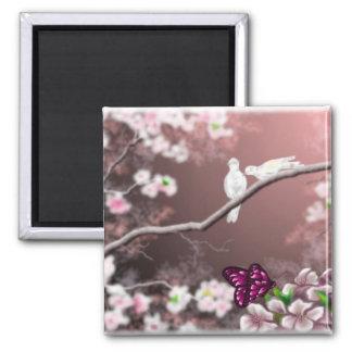Cherry Blossom Haven Magnet