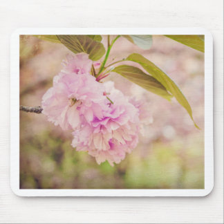 Cherry blossom in dream mouse pad