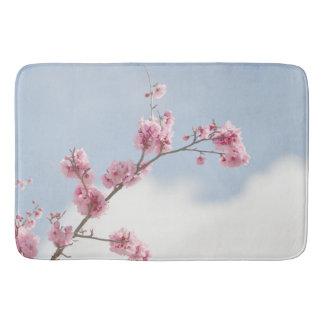 Cherry Blossom in the Sky Bath Mat