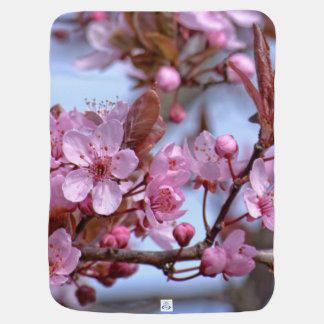 Cherry Blossom Japanese Pramblanket