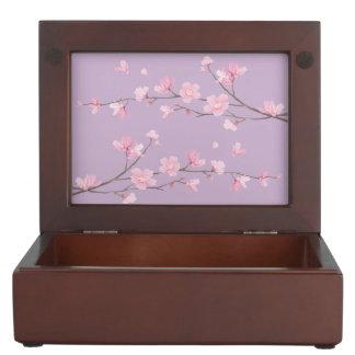 Cherry Blossom Keepsake Box