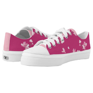 Cherry Blossom - Magenta Low Tops