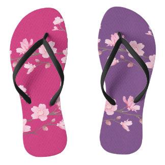 Cherry Blossom - Magenta Thongs