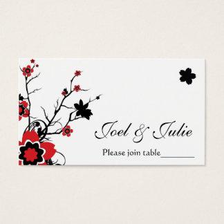 Cherry Blossom Modern Custom Table / Place Card