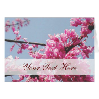 Cherry Blossom Note Card (Customizable)