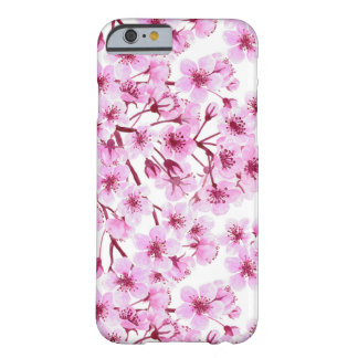 Cherry blossom pattern barely there iPhone 6 case