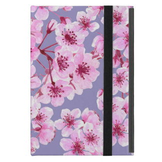 Cherry blossom pattern cover for iPad mini